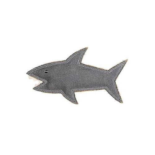 Outback Tails Jute Chew Animal Toy, Shazza the Great White Shark