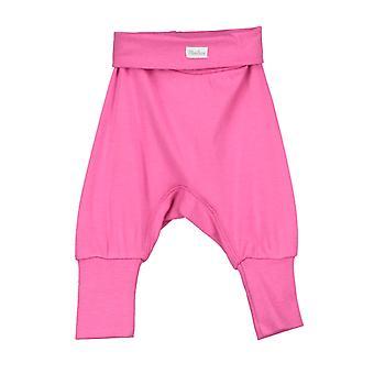 Spodnie dla niemowlątbać różowy