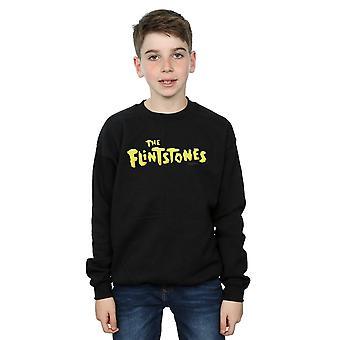 De Flintstones jongens originele logo Sweatshirt
