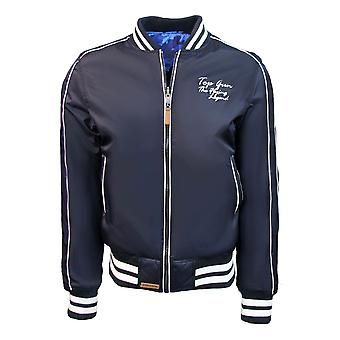 Top Gun The Flying Legend MA-1 Reversible Bomber Jacket Navy Blue