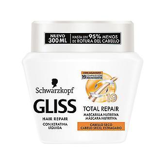 Nährende Haarmaske Gliss Total Repair Schwarzkopf (300 ml)