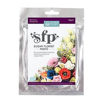 Escus Cozinha SFP Sugar Florist A pasta Bordeaux (Borgonha)