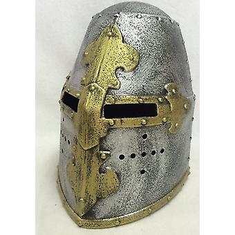 Ridder helm pot helm Norman helm kind kostuum