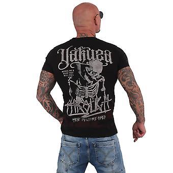 YAKUZA Men's T-Shirt Through Bones Dye