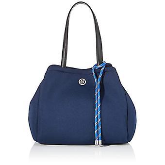 Marc O'Polo 90818320301601 Bolso de hombro azul para mujer (azul (verdadero azul (azul (verdadero azul marino 884)) 18,5x28x50,5 cm (B x Al x T)