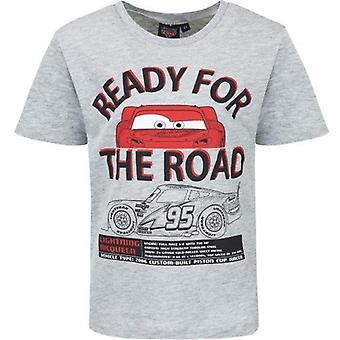 T-shirt Auto's, klaar voor onderweg.