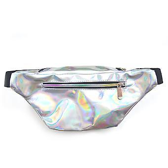 Luna Cove Unisex Adults Holographic Bum Bag