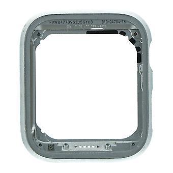 Für iWatch 40mm 4. Generation - Mittleres Rahmengehäuse - Silber