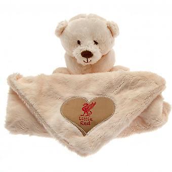 Liverpool FC Official Baby Comforter Hugs Blanket