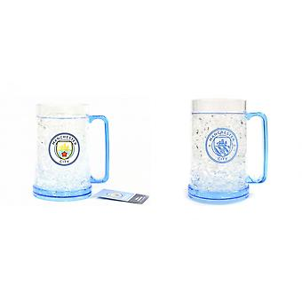 Manchester City FC Official Football Freezer Tankard