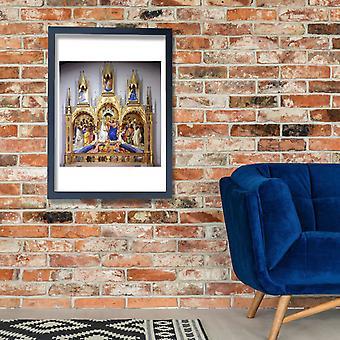 Lorenzo Monaco - Incoronazione della Vergine Poster Print Giclee