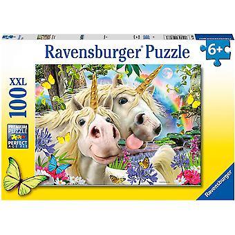 Ravensburger Unicorn Selfie - Son-apos;t Worry Be Happy XXL 100pc Puzzle puzzle