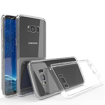 Crystal tpu bumper gel case for samsung galaxy s8