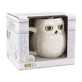 Harry Potter Hedwig Shaped Ceramic Mug Wizarding World Novelty Tea Coffee