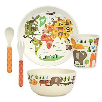 Petit Collage Bamboo Dinnerware Set