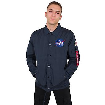 Alpha Industries Men's Transition Jacket NASA Coach