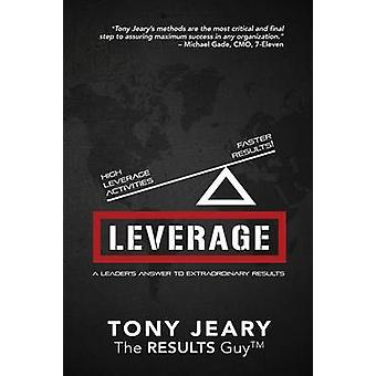 Leverage High Leverage Activities  the Right Results Faster by Jeary & Tony
