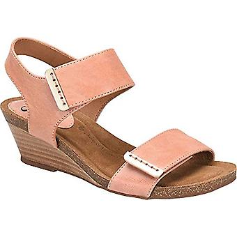 Sofft Womens Verdi Leather Open Toe Casual Slingback Sandals