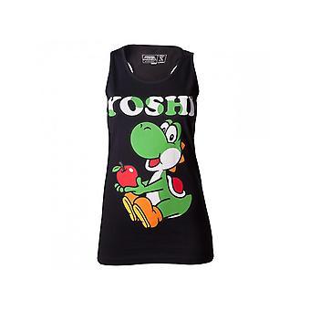 Nintendo - Yoshi Black Women's Vest