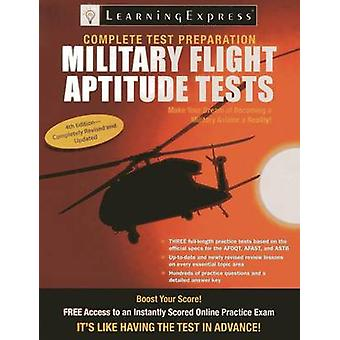 Military Flight Aptitude Tests (4th Revised edition) by LearningExpre