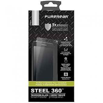 SAMSUNG GALAXY NOTE 8 PUREGEAR STEEL 360 SCREEN PROTECTOR WITH INSTALL TEMPERED GLASS
