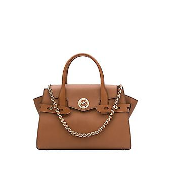Michael Por Michael Kors 30s0gnms7l230 Mujeres's Brown Leather Tote