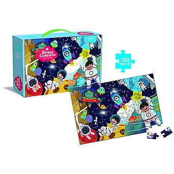 Space puzzles, 180 paper toys, great gifts for boys and girls, cool craft bags and fun art sets for children!