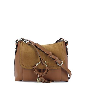 See By Chloé S17us910330242 Women's Brown Leather Shoulder Bag