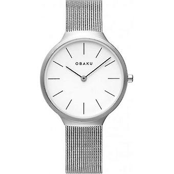 OBAKU - Wristwatch - Ladies - ARK LILLE-STEEL - V240LXCWMC