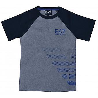 EA7 Boys EA7 Boy's Medium Grey T-Shirt