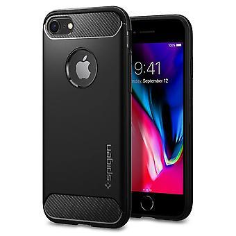 Casco para IPhone 8 / IPhone 7 Armadura robusta Negro