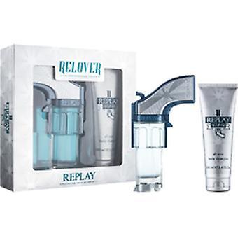 Replay - Relover SET EDT 50 ml + gel douche 100 ml - 50ML