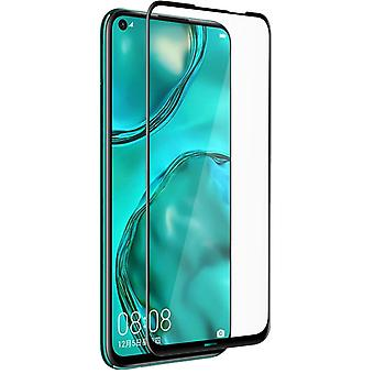 Huawei P40 Lite Anti-Glare Tempered Glass 9H Shockproof Screen protector-Black