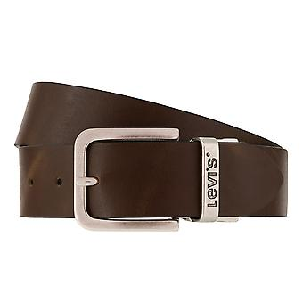 Levi BB´s belts men's belts leather jeans belt brown/black 7846