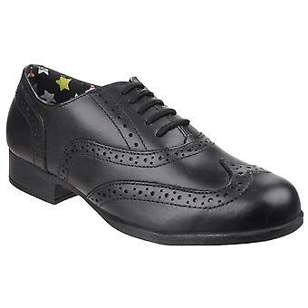 Hush puppies men's kada back to school shoe black 25336