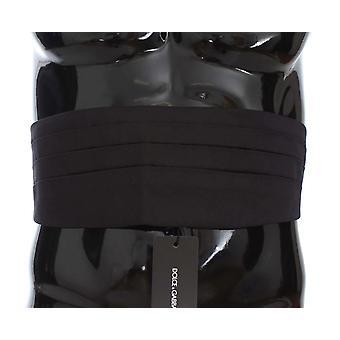 Black wide belt silk cumme31625559