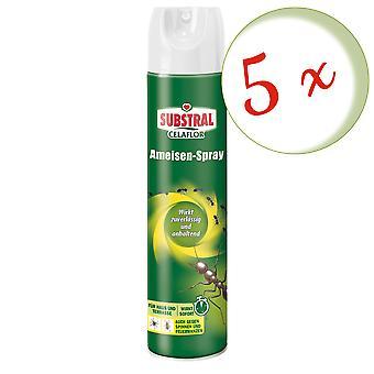 Sparset: 5 x SUBSTRAL® Celaflor® Ant Spray, 400 ml