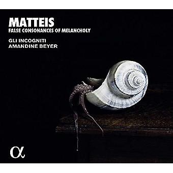 False Consonances Melancholy [CD] Usa import