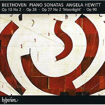 L.V. Beethoven - Beethoven: Piano Sonatas, Opp. 10/2, 26, 27/2 & 90 [CD] USA import