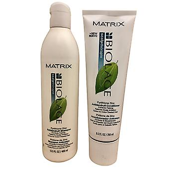 Matrix Scalptherapie Antidandruff Shampoo 16.9 OZ & Conditioner 8.5 OZ Set