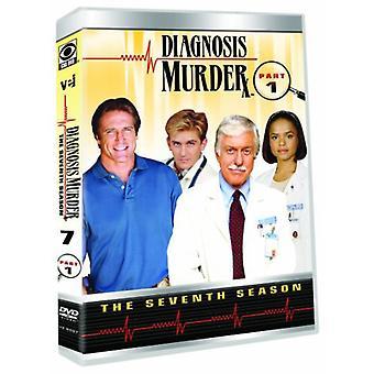 Diagnosis Murder: The 7th Season - Part 1 [DVD] USA import