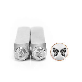 Impressart Butterfly Wings Design Stamp Set 6mm Pack of 2