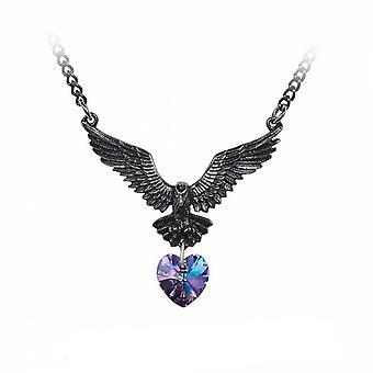 Alchemy - hamingja - crystal pendant necklace