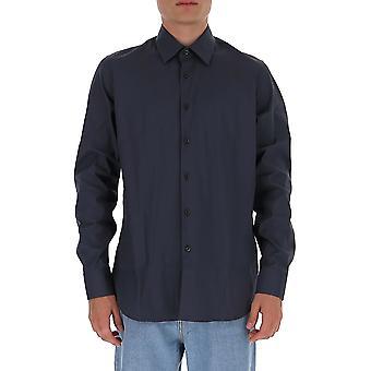 Prada Ucm608f62f0170 Männer's schwarze Baumwolle Shirt