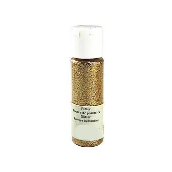 20ml Gold Extra Fine Craft Glitter for Crafts