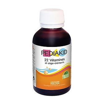 Pediakid 22 Vitamins and Trace Elements (Aroma of Natural Orange and Apricot) 125 ml (Orange - Apricot)