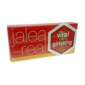 Vital Royal Jelly with Ginseng 20 vials