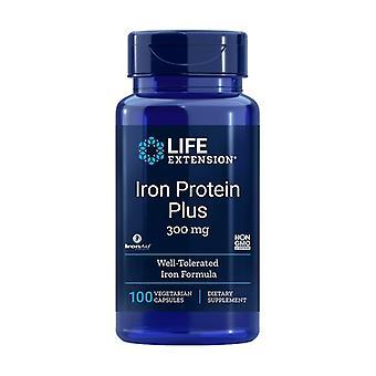 Protéine de fer Plus 300 mg 100 capsules végétales