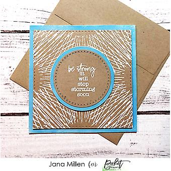 Picket Fence Studios Spotlight On You Clear Stamps