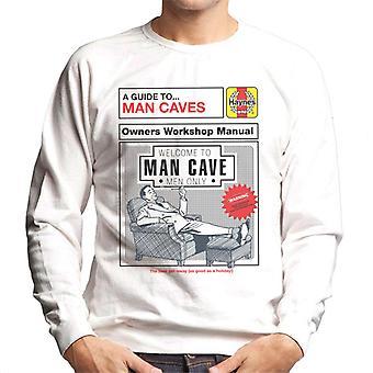 Haynes Man Caves Owners Workshop Manual Men's Sweatshirt